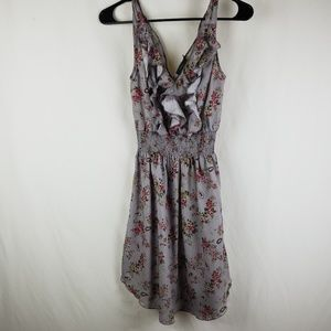 Anthropologie THML Sleeveless Floral Dress Small